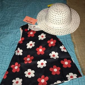 NWT Beautiful little girls 2pc outfit